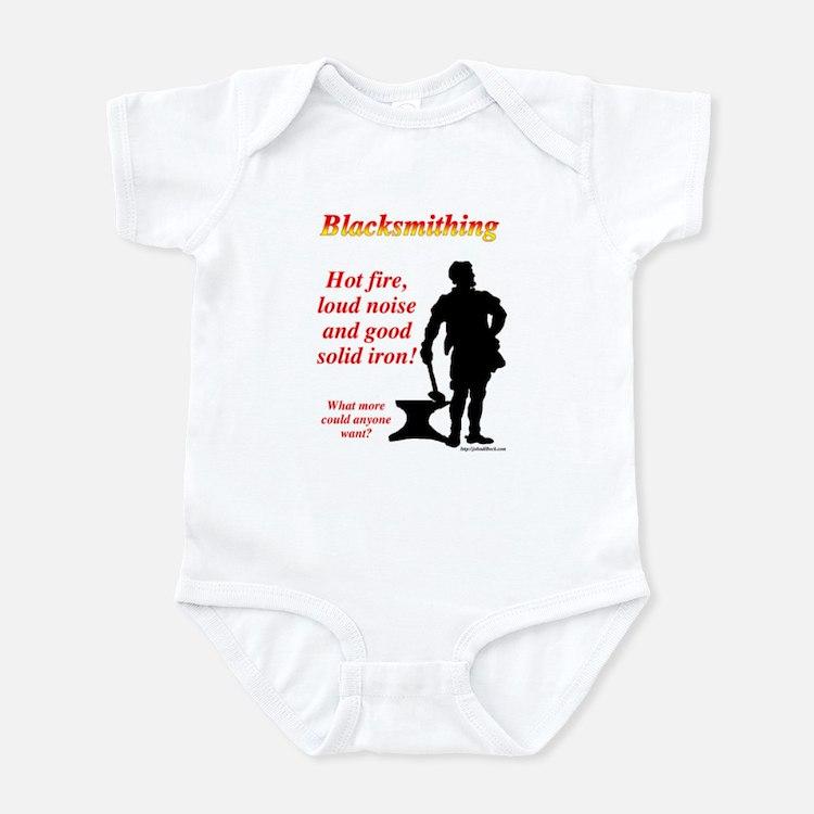 Hot fire loud noise Infant Bodysuit