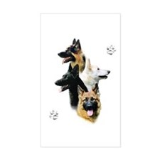GSD Quad Rectangle Decal