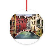 """""""Outside Murano"""" Ornament (Round)"""