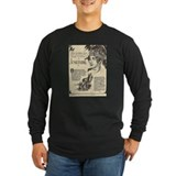Napoleon and josephine Long Sleeve T-shirts (Dark)