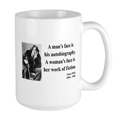 Oscar Wilde 8 Large Mug