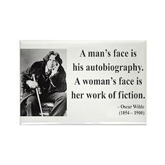 Oscar Wilde 8 Rectangle Magnet