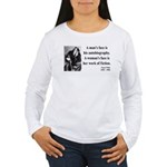 Oscar Wilde 8 Women's Long Sleeve T-Shirt