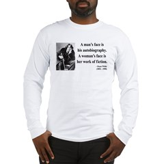 Oscar Wilde 8 Long Sleeve T-Shirt