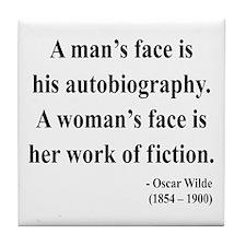 Oscar Wilde 8 Tile Coaster