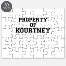 Property of KOURTNEY Puzzle
