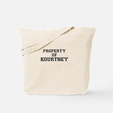 Property of KOURTNEY Tote Bag