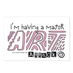 Major Art Attack 2 Postcards (Package of 8)