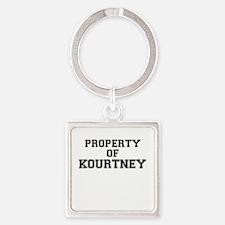 Property of KOURTNEY Keychains