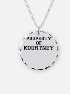 Property of KOURTNEY Necklace