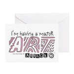 Major Art Attack 2 Greeting Cards (Pk of 10)