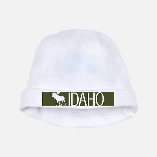 Idaho: Moose (Mountain Green) baby hat