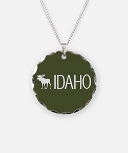Idaho: Moose (Mountain Green Necklace