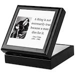 Oscar Wilde 9 Keepsake Box