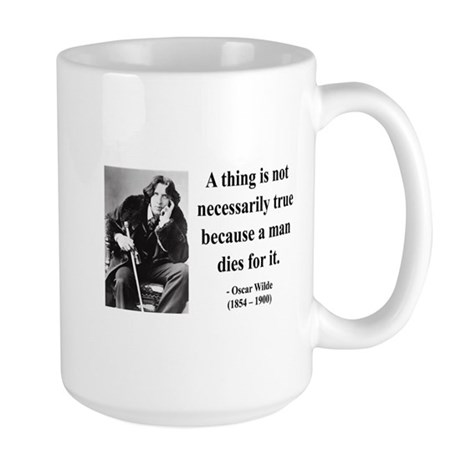 Oscar Wilde 9 Large Mug