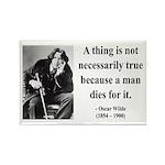 Oscar Wilde 9 Rectangle Magnet (10 pack)