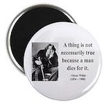 Oscar Wilde 9 Magnet
