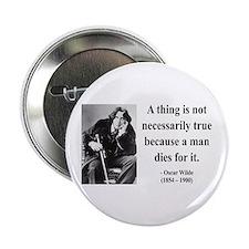 """Oscar Wilde 9 2.25"""" Button"""