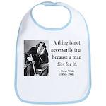 Oscar Wilde 9 Bib