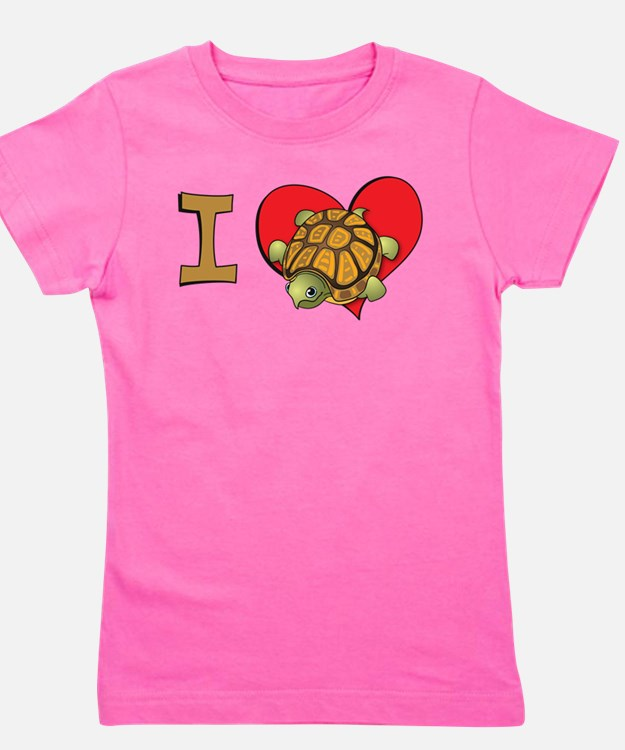 Cute I heart kids Girl's Tee