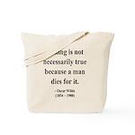 Oscar Wilde 9 Tote Bag