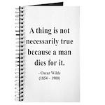 Oscar Wilde 9 Journal