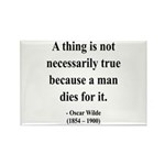 Oscar Wilde 9 Rectangle Magnet (100 pack)