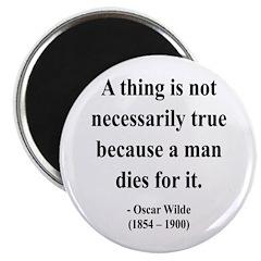 "Oscar Wilde 9 2.25"" Magnet (10 pack)"