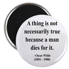 "Oscar Wilde 9 2.25"" Magnet (100 pack)"