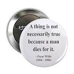 """Oscar Wilde 9 2.25"""" Button (100 pack)"""