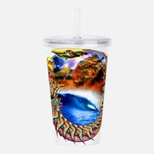 ancient intervention Acrylic Double-wall Tumbler