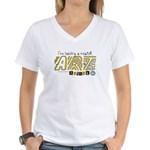 Major Art Attack 3 Women's V-Neck T-Shirt