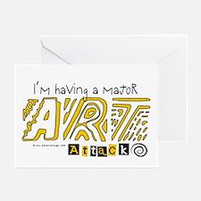 Major Art Attack 3 Greeting Cards (Pk of 10)