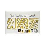 Major Art Attack 3 Rectangle Magnet (10 pack)