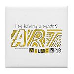Major Art Attack 3 Tile Coaster