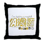 Major Art Attack 3 Throw Pillow