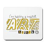 Major Art Attack 3 Mousepad