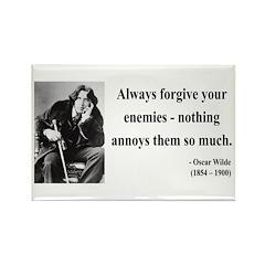 Oscar Wilde 10 Rectangle Magnet