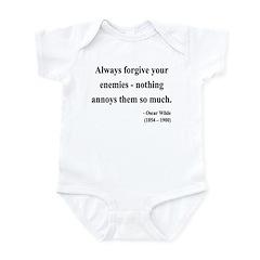 Oscar Wilde 10 Infant Bodysuit