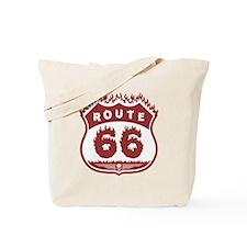 Burning 66 Tote Bag