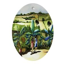 Hernanitas Jibaritas - (Sisters) Oval Ornament
