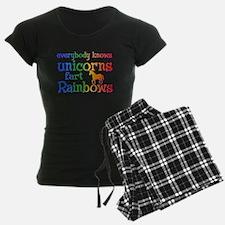 Unicorns far Rainbows Pajamas