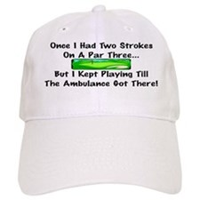 Cute Humorous golf Baseball Cap