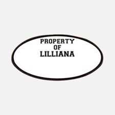Property of LILLIANA Patch