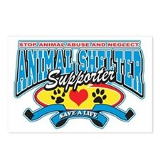 Animal Shelter Supporter Postcards (Package of 8)