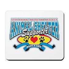 Animal Shelter Supporter Mousepad