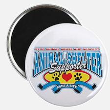 Animal Shelter Supporter Magnet