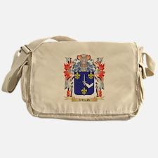 D'Elia Coat of Arms - Family Crest Messenger Bag