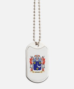 D'Elia Coat of Arms - Family Crest Dog Tags