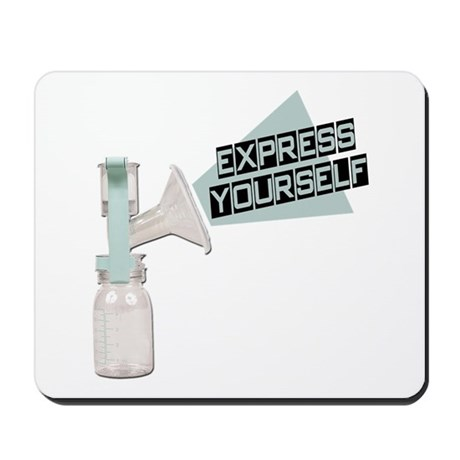 Express Yourself Breastfeeding Mousepad